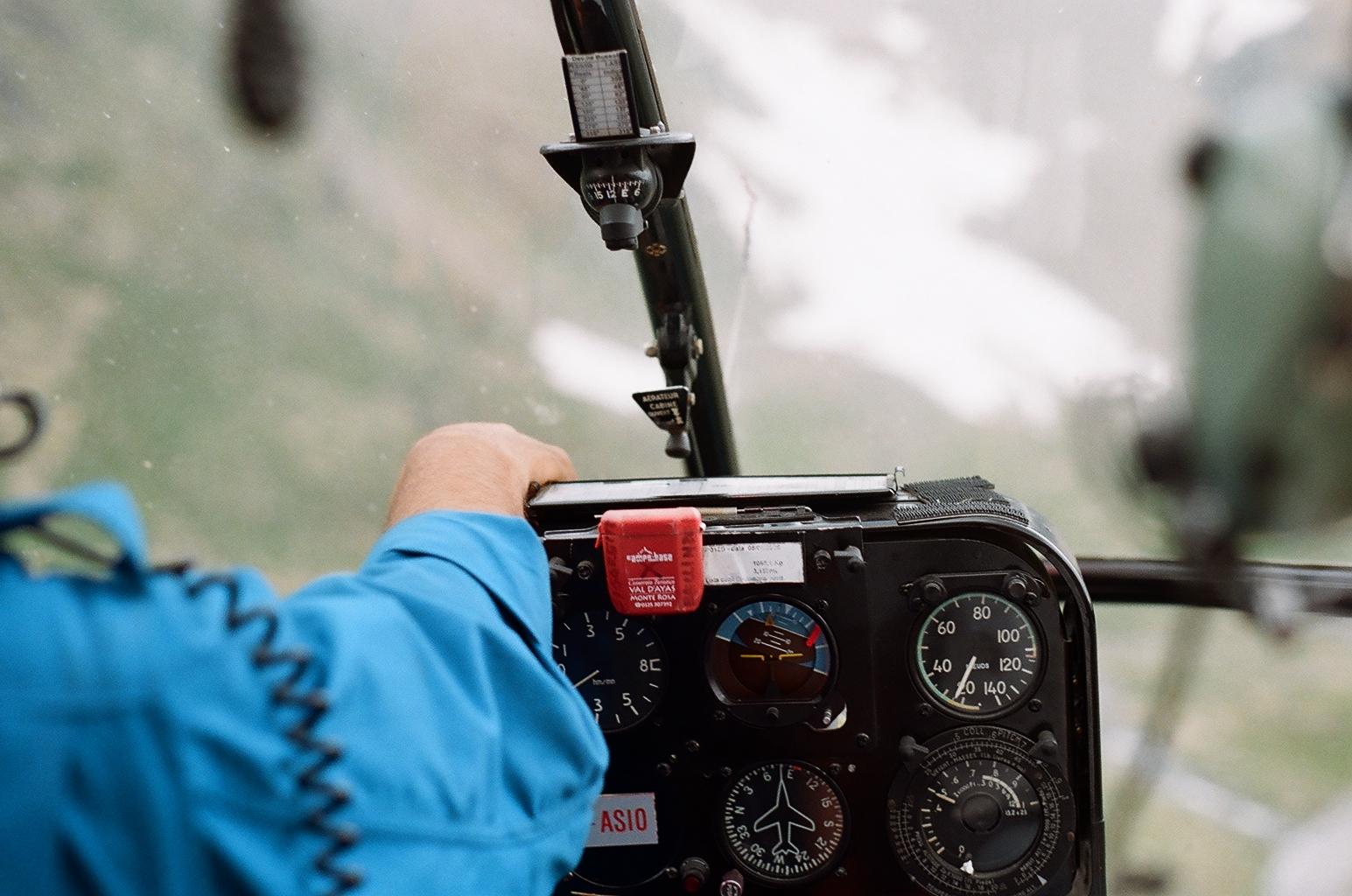 Riprese aeree (Valle d'Aosta)